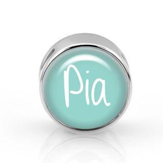 Schiebeperle personalisiert mint