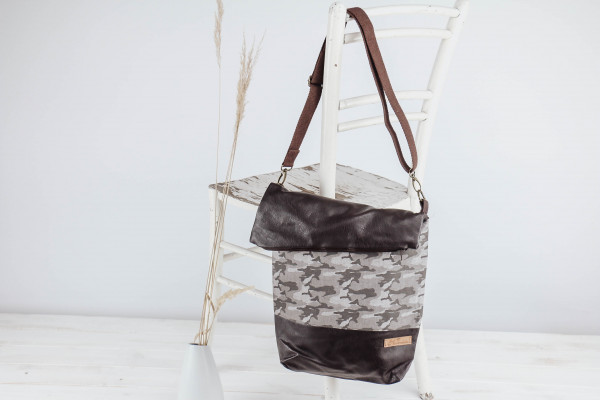 Fold-over- Tasche Military