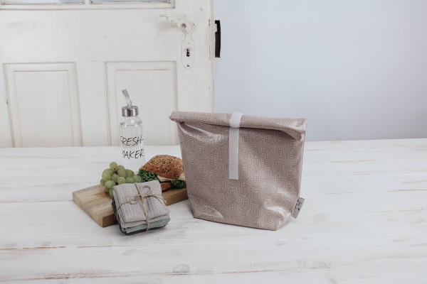 Lunchbag Alba rose