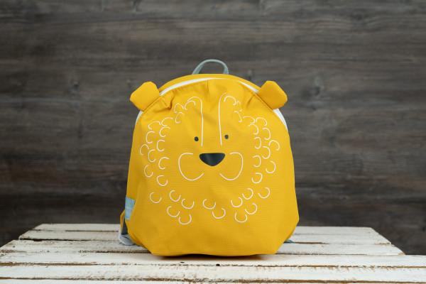 Kinderrucksack Löwe gelb