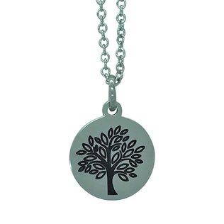 Edelstahl-Kette Lebensbaum