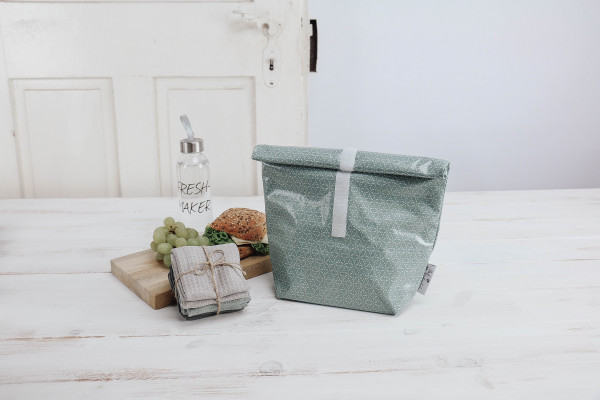 Lunchbag Lotus mint