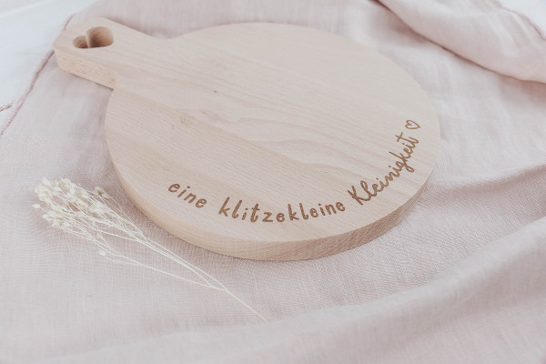 """Eulenschnitt Mini Holzbrett *eine Klitzekleine Kleinigkeit"""""""