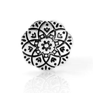 Schiebeperle Ornament Metall