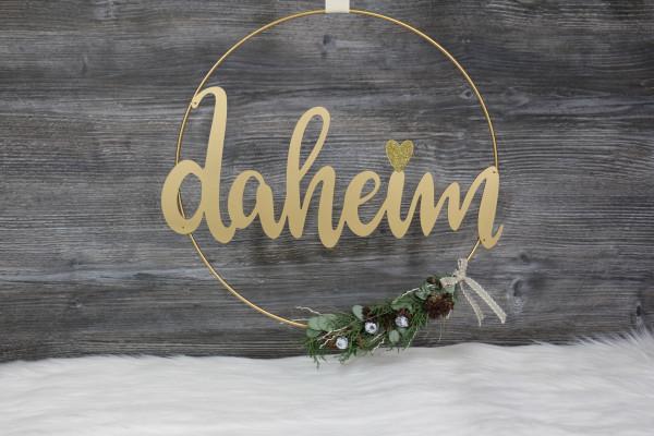 """Kranz """"daheim"""""""
