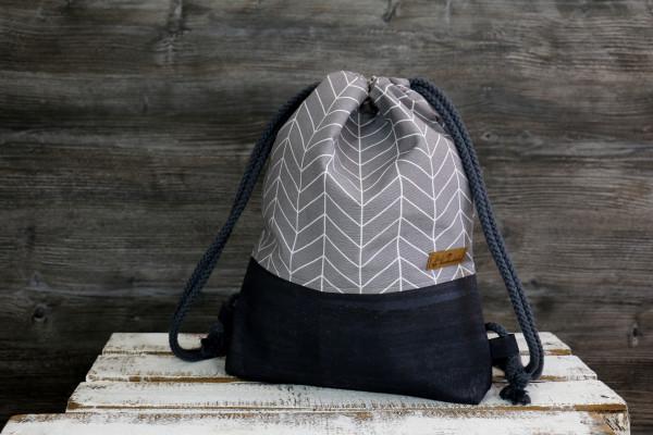 Festivalbag Arrow grey