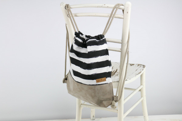 Festivalbag black and white
