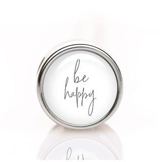Mini-Schiebeperle be happy