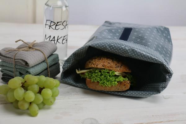 Lunchbag Jasmin blau