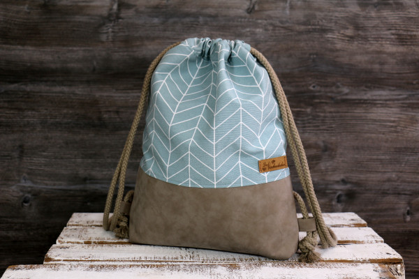 Festivalbag Arrow mint