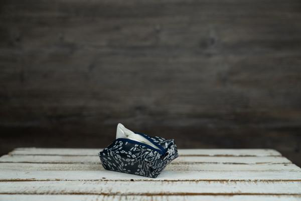 Taschentüchertäschchen blue Nature