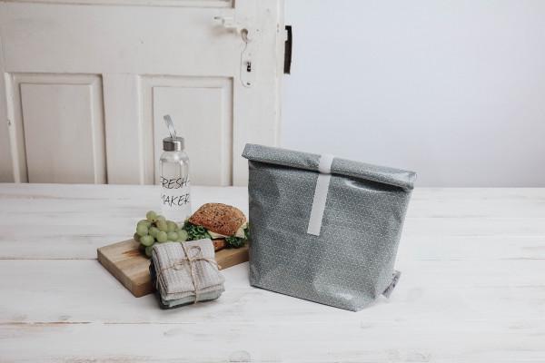 Lunchbag dusty blue