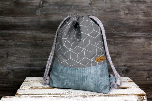 Festivalbag Geo grey