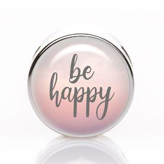 Schiebeperle be happy rosa