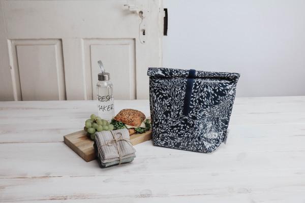 Lunchbag blue Nature