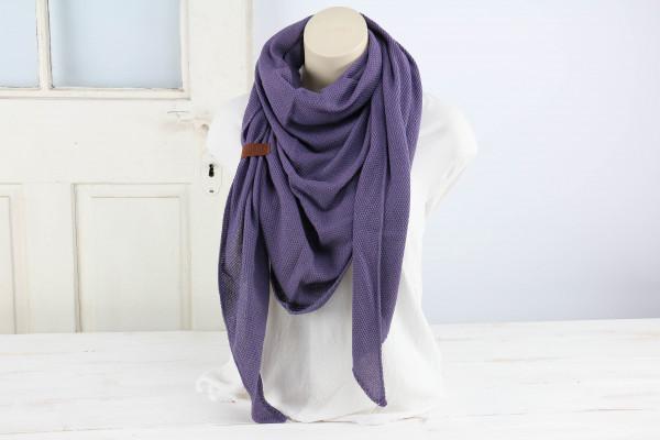 Dreieckstuch Sommer Violett